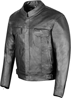 concealed carry leather motorcycle jacket