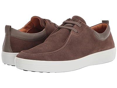 ECCO Soft 7 Wallaby Sneaker (Dark Clay/Dark Clay) Men