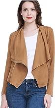 Best plus size brown suede jacket Reviews
