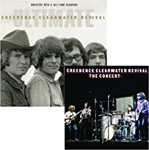 Ultimate Greatest Hits & All-Time Classics - The Concert - Creedence Clearwater Revival 2 CD Album Bundling