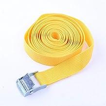 Spanbanden, 5 m gesp tie-down riem lading riemen voor auto motorfiets fiets met metalen gesp touw sterke ratel riem voor b...