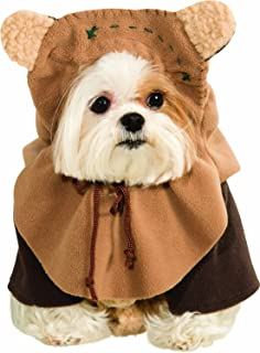 Ewok Wicket Star Wars Movie Fancy Dress Up Halloween Pet Dog Cat Costume, Star Wars - Ewok Dog Costume *Product Quality*