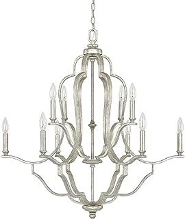 Capital Lighting 4940AS-000 Ten Light Chandelier