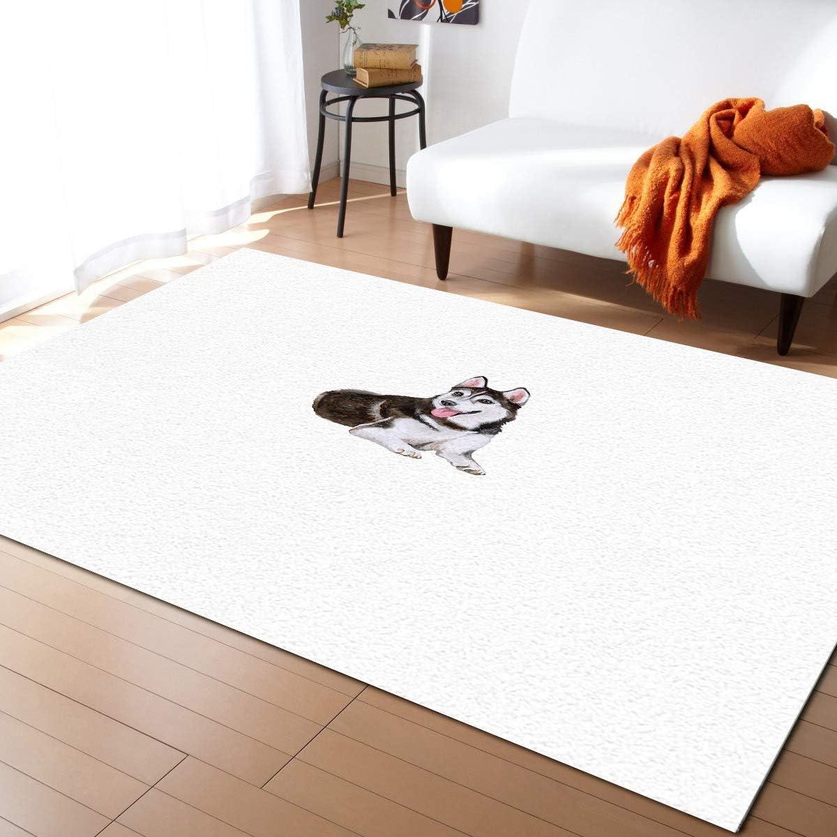 ARTSHOWING Dog Lover Regular dealer Decor Area Carpets Rug Non-Slip NEW before selling Decorative