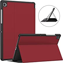 Soke Samsung Galaxy Tab S5e Case 2019, Premium Shock Proof Stand Folio Case,Multi- Viewing Angles, Auto Sleep/Wake,Soft TPU Back Cover for Galaxy Tab S5e 10.5 inch Tablet [SM-T720/T725],Red