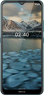 "Nokia 2.4 Android Smartphone Dual Sim, 2GB RAM, 32GB Memory, 6.5""HD+Screen, Face Unlock, Finger Print reader - Blue"