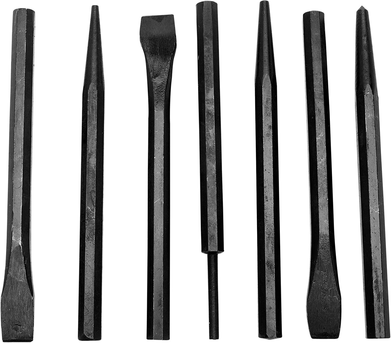 Performance Tool 1937 7-Piece Chisel 2021new shipping free shipping Punch Set Special Campaign and