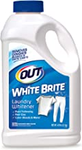 OUT White Brite Laundry Whitener, Removes Red Clay, Perfect for Cleaning White Baseball Pants, Sheets, Towels, Safer than Bleach, Cleaner, Brighter, Fresher Laundry, 4 Pound 12 Ounce