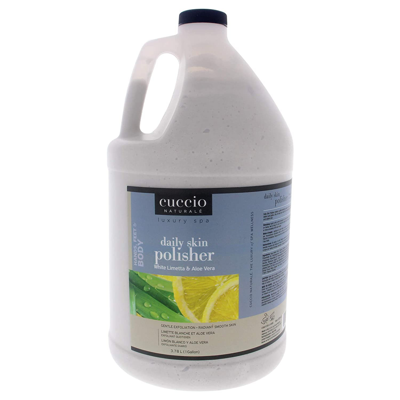 Cuccio Luxury Spa Daily Skin Polisher Ver Aloe White Special price Limetta Cheap mail order shopping -