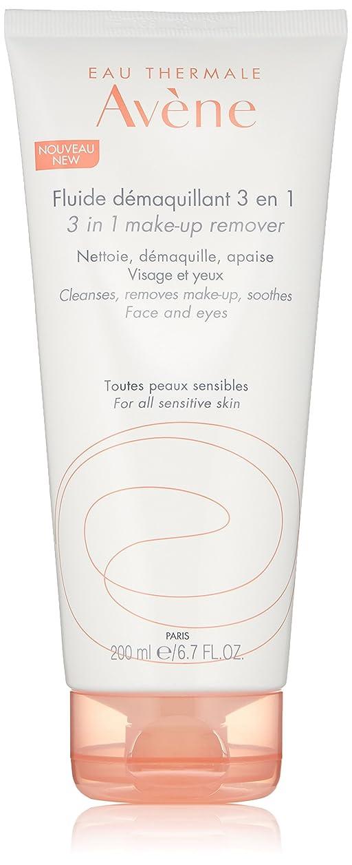 パフ置き場スペースアベンヌ 3 In 1 Make-Up Remover (Face & Eyes) - For All Sensitive Skin 200ml/6.7oz並行輸入品