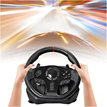 DYYD Pc Steering Wheel Game 900 Degree PC Racing Wheel, Universal USB Car Racing Game Steering Wheel with Pedal for Window...