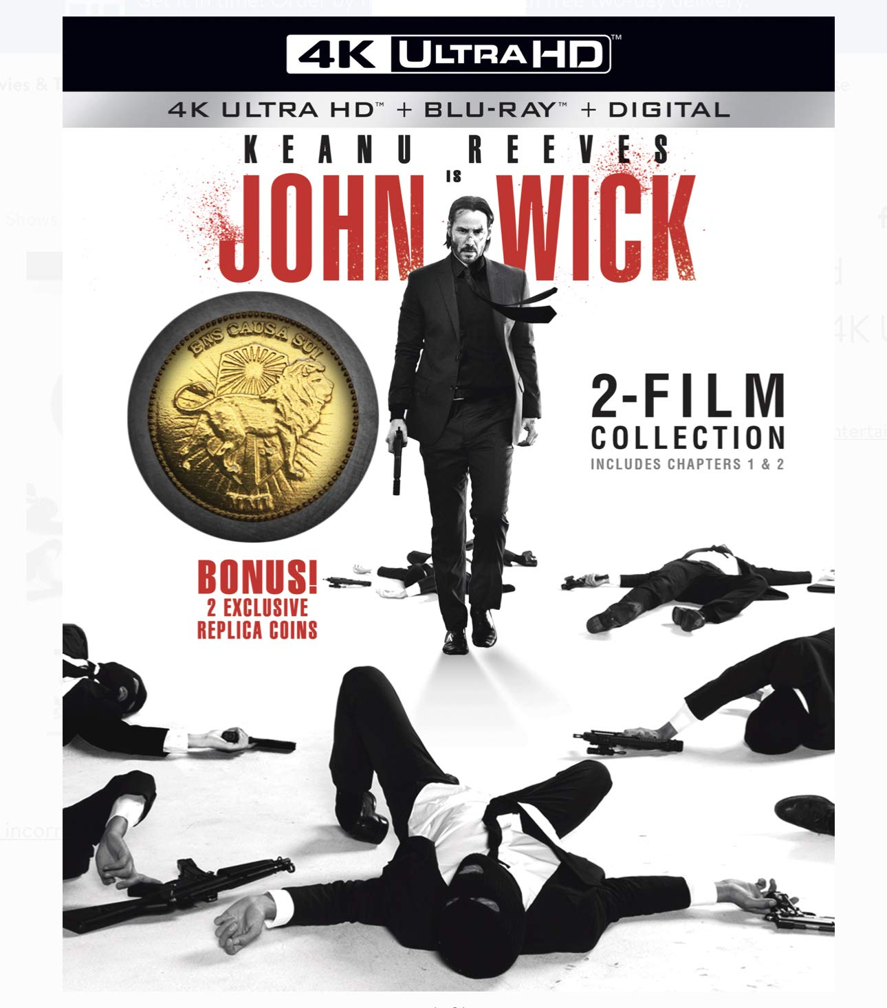 John Wick Max 75% OFF Super special price Chapter 2 Blu-ray