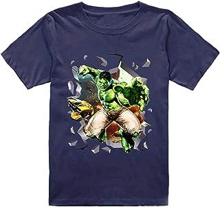 FMstyles - Hulk 3d Break Through Dark Blue Kids Tshirt - FMS244