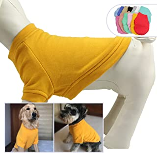 lovelonglong 2019 Dog Pullover Sweatshirt Autumn Winter Cold Weather Dog T-Shirts for Small Medium Large Size Dogs Miniature Schnauzer Clothes