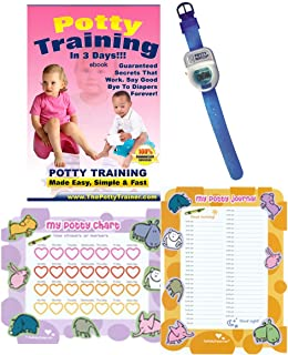 Potty Training In 3 Days - Ultimate Potty Training for Boys. Complete Kit Includes Potty Training In 3 Days Audio Guide, L...