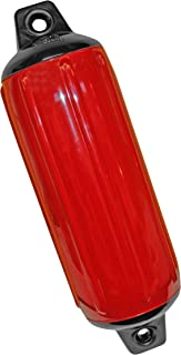 Taylor Made Products 955520 Super Gard Inflatable Vinyl Boat Fender, 5.5 x 20 inch, Red