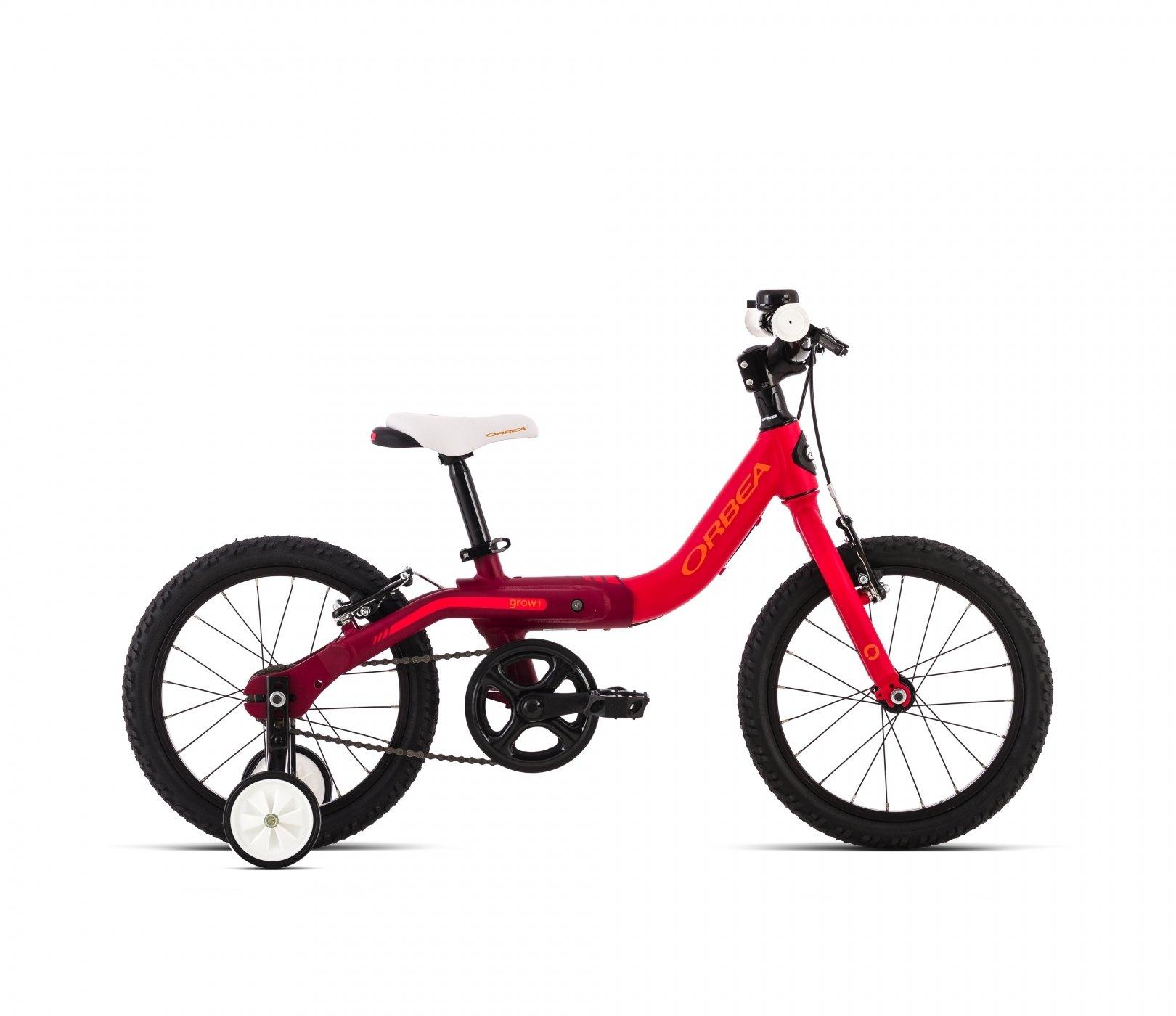 Bicicleta Infantil Orbea Grow 1 Roja: Amazon.es: Deportes y aire libre