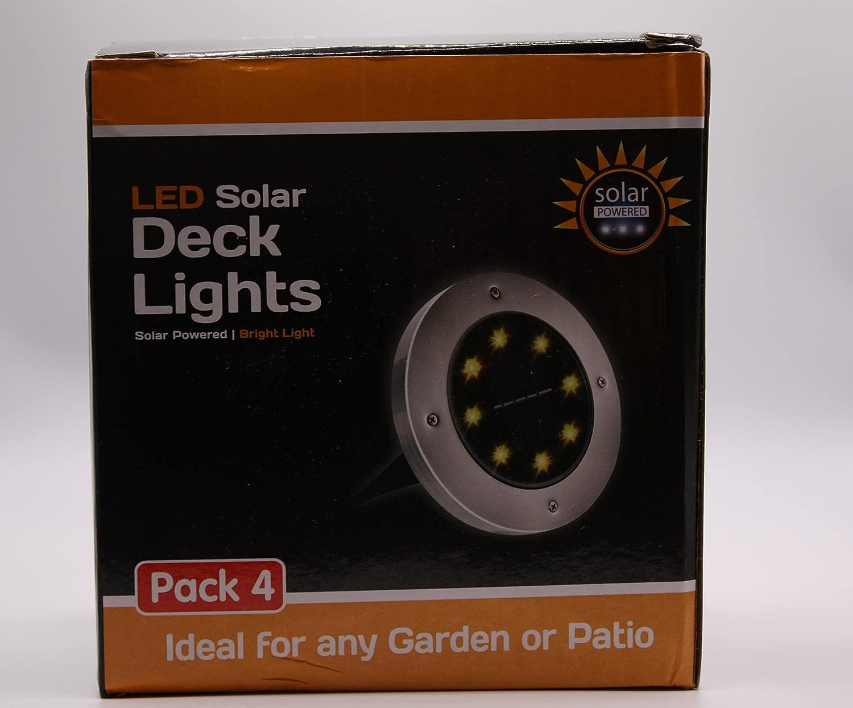 Led Solar Deck Lights Max 78% Large-scale sale OFF