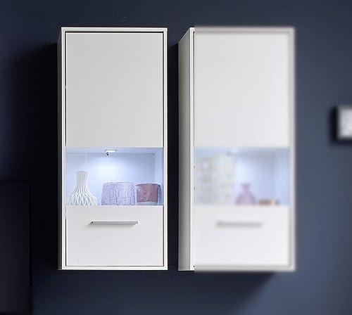 solo cómpralo Trendteam Mueble, Korpus Dekor, Front blanco blanco blanco Glanz, 50 x 112 x 125 cm  mejor calidad mejor precio