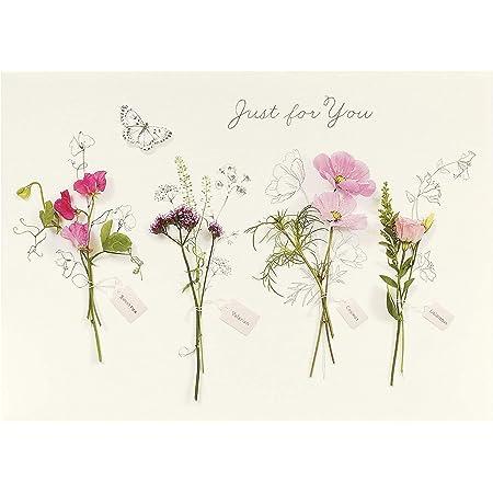 Biglietto di compleanno per lei – Biglietto di compleanno per amico – bellissimo design floreale
