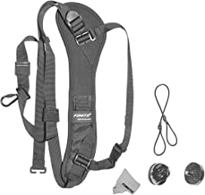 Fomito Q-1 Rapid Shooting Camera Neck Strap w/ Quick Release and Safety Tether