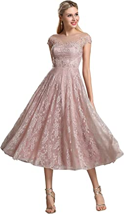 1af32a47db eDressit Rosy Brown Illusion Neckline Lace Prom Cocktail Dress (04161746)