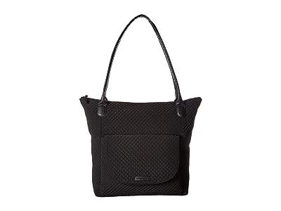 Vera Bradley Carson North/South Tote (Classic Black) Tote Handbags