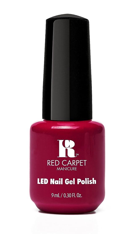 ヒント保守可能実行Red Carpet Manicure - LED Nail Gel Polish - Mulled Wine - 0.3oz/9ml