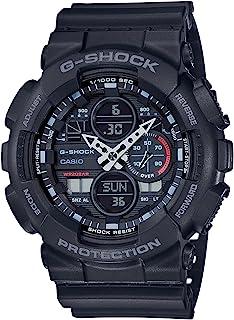 Casio Analog-Digital Black Dial Men's Watch-GA-140-1A1DR (G975)