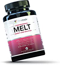 MELT Fat Burner for Women Diet Pills to Support Weight Loss for Women Appetite Suppressant and Metabolism Booster with Green Tea EGCG Sensoril and Acetyl L Carnitine 120 Vegetarian Capsules Estimated Price : £ 29,99