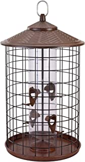 Belle Fleur - Bird Feeders 50153 Bird Feeder, Brown