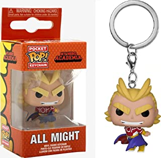 Funko Pocket Pop! Keychain: My Here Academia - All Might (Silver Age), Action Figure - 43452