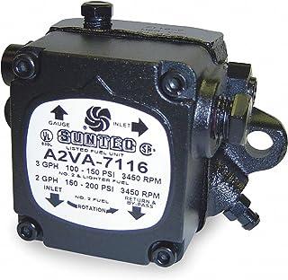 SUNTEC Oil Burner Pump, Number of Stages 1, 3 GPH, Adjustable PSI Range 100 to 150, 3450 RPM
