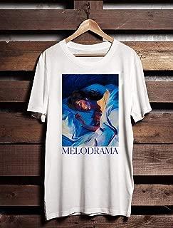 Lorde Melodrama Unisex White T-Shirt Audre lorde tour shirt tumblr shirt For Men For Women
