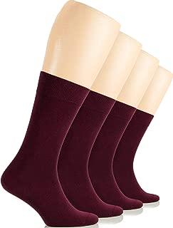 Best burgundy crew socks Reviews