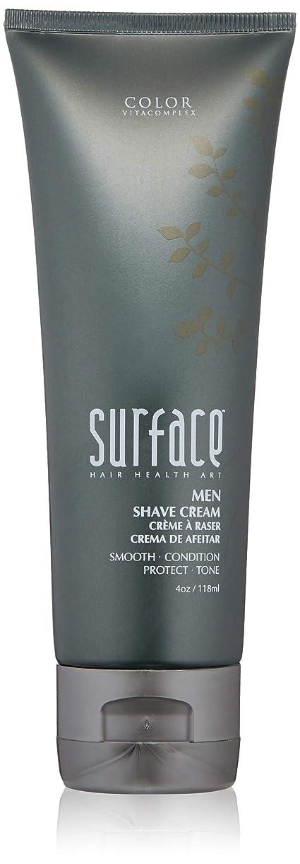 終わり強い体細胞SurfaceHair 髪メンシェーブクリーム、4液量オンスを表面
