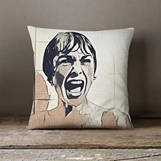 CELYCASY Alfred Hitchcock Decorative Throw Pillow Cover Pillowcase Design Pillow Case Gift Gift Home Theater Decor Movie Home Cinema Decor The Psycho