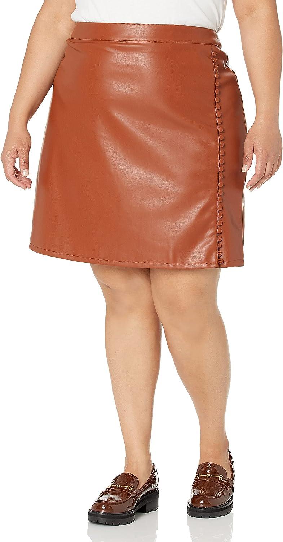KENDALL + KYLIE Women's Side Max 49% OFF Skirt Mini Slit Austin Mall