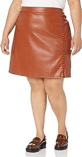 KENDALL + KYLIE Women's Side Slit Mini Skirt