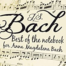 Notebook for Anna Magadalena Bach: Minuet in B-Flat Major, BWV Anh. 118