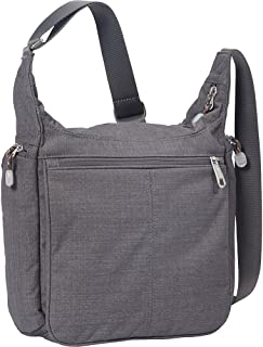 eBags Piazza Daybag 2.0 with RFID Security - Small Satchel Crossbody for Travel, Work, Business