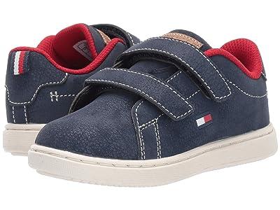 Tommy Hilfiger Kids Iconic Court EX ALT (Toddler) (Navy) Kid