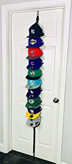 The Clip Hanger Hat Hats Baseball Cap Caps Rack Organizer Organizers Up to 20 Hats Any Size, Style, or Shape! Door, Wall, or Closet Organize Anything. Hanging from a Hanger or Hang from Ceiling
