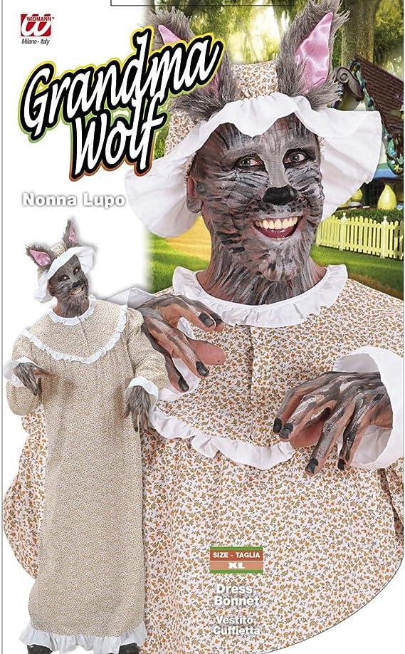 Rotkäppchen Huckepack Kostüm Böser Wolf Herrenkostüm L 52-54 Märchen Karneval