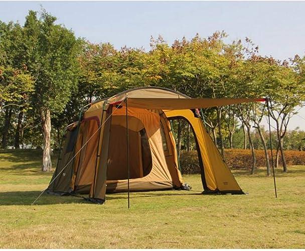 MDZH Tente Tente De Voyage De Voiture De 5-8 Personnes pour Camper Conduire Auvent Autonome De Tente
