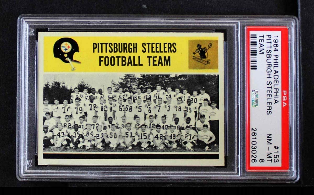 1964 Philadelphia # 153 Pittsburgh [Alternative dealer] Steelers Spring new work one after another Footb Team