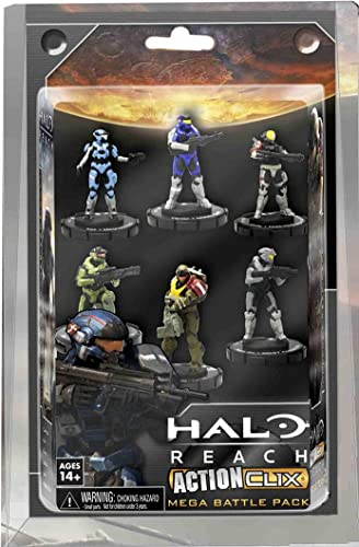ventas al por mayor NECA NECA NECA Halo Reach Action Clix  Noble Team 6 Unidades  Felices compras