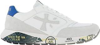 PREMIATA Luxury Fashion Mens ZACZAC4555 White Sneakers   Spring Summer 20