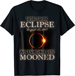 Eclipse August 21 2017 West Virginia Gets Mooned