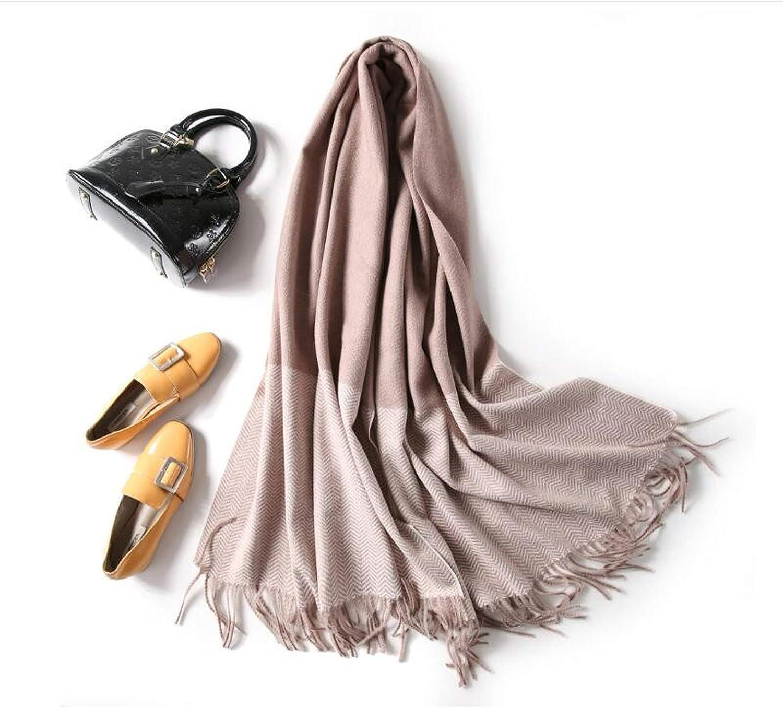 Casual Solid Warm color Women Cashmere Scarves Shawl Autumn Warm Winter Woman Scarf Wraps,khaki